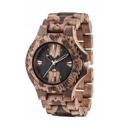 DATE NATURE MIRROR NUT Orologio in legno LIMITED EDITION