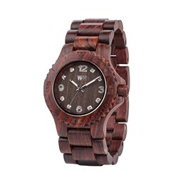 WeWOOD  DENEB CHOCOLATE Orologio in legno