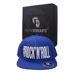 Cappello #Rock'N'Roll - Blu