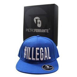 Cappello #Illegal - Blu