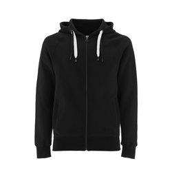 Continental Clothing Felpa Unisex Zip-Up Hoody Black