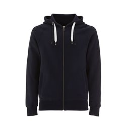 Continental Clothing Felpa Unisex Zip-Up Hoody Navy