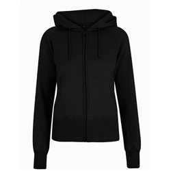 Continental Clothing Felpa Women's CC Zip-Up Hoody Black