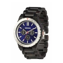 WeWOOD KAPPA MB BLACK BLUE Orologio in legno