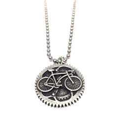 Necklace15 Collana Bicicletta