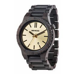 ARROW BLACK GOLD Orologio in legno