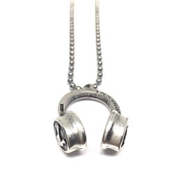 Necklace 33 Collana Cuffie DJ