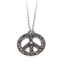 Necklace 17 Collana Simbolo Pace