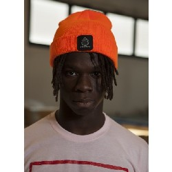 OVERDRIVE Cappellino invernale BEANIE PATCH ORANGE