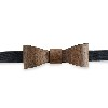 photo FRANK BOW TIE NOCE Papillon in legno 1