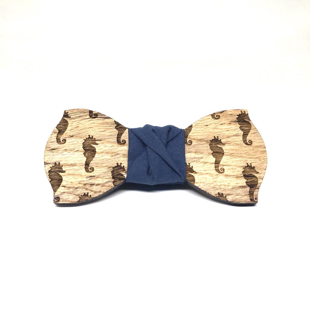 Papillon in legno Gigetto 1910 pattern 17