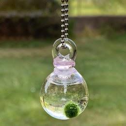Marimino Pink Sphere Necklace